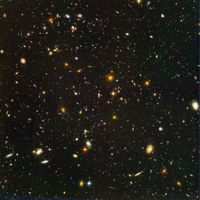 Hubble image of the Ultra Deep Field (full size)