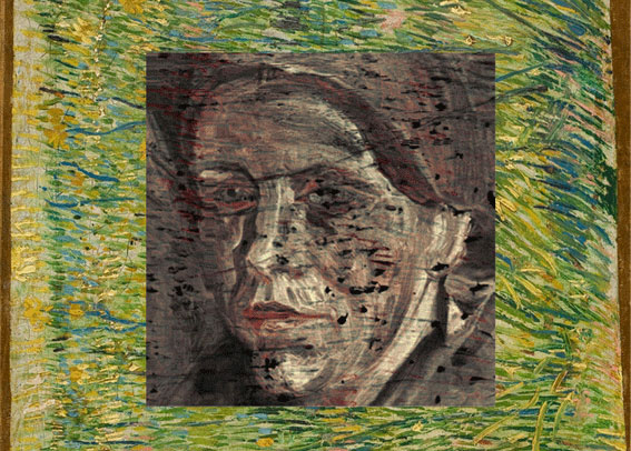 X-ray Fluorescence Mapping of a van Gogh painting