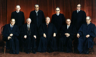 1973 US Supreme Court justices
