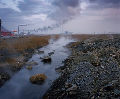 Pollution along the Yellow River