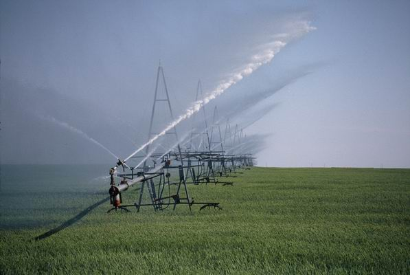 Irrigation of farmland in New Jersey