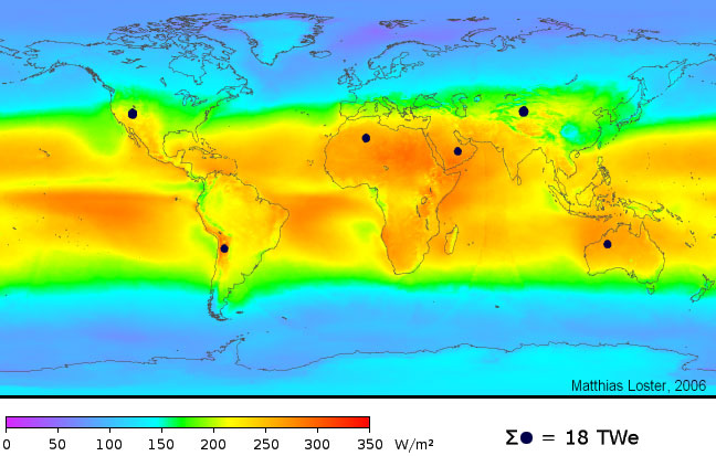 Solar Energy Potential And Utilization Earth 104 Earth And The Environment Development