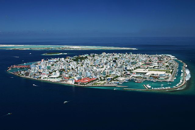 Malé, capital of Maldives.