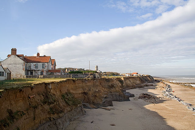 Overview of coastal erosion coastal processes hazards and society happisburgh norfolk uk sea cliff coastal erosion thecheapjerseys Image collections