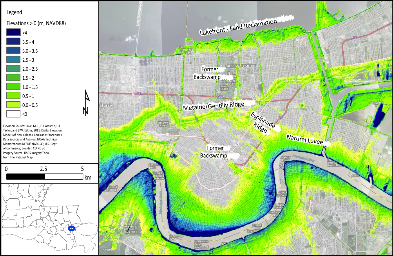 New Orleans | Coastal Processes, Hazards, and Society
