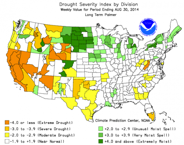 Measuring the Severity of Drought   EARTH 111: Water