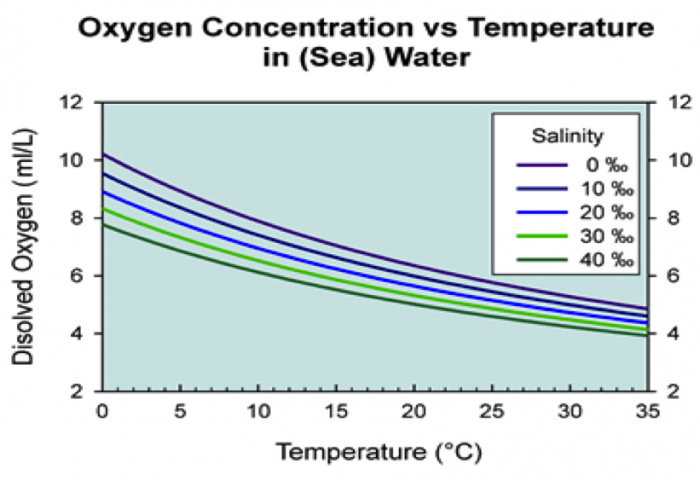 experiment on amount of dissolved oxygen in water In this study, change in water-dissolved oxygen (do) was analyzed under   thus, the experiment was conducted so that the amount of kaolin.