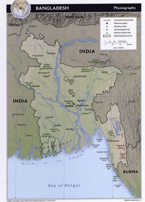 The India Bangladesh Ganges River Split Earth 111 Water Science