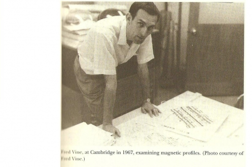 Photo of Fred Vine from Plate Tectonics, Ed. Oreskes