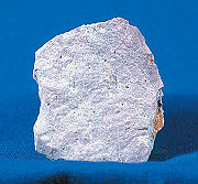photo of a hand sample of rhyolite
