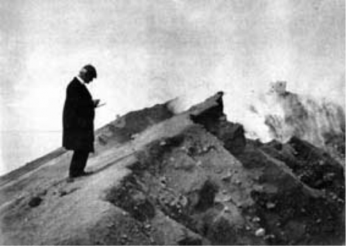 Mercalli at Vesuvius in 1906