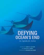 "cover of the book ""Defying Ocean's End"""