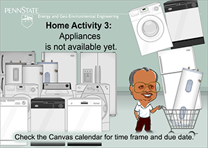 Image indicating that Home Activity 3 is not available yet.