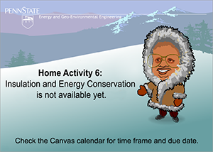 Image indicating the Home Activity 6 is not available yet.