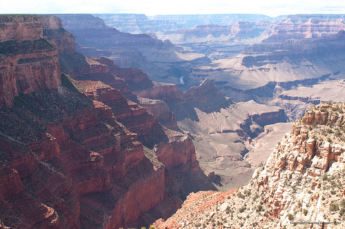 A picture of the Grand Canyon.