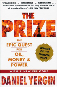 book cover for The Prize: The Epic Quest for Oil, Money & Power