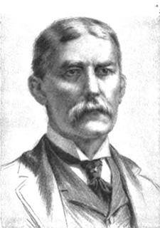 black and white portrait of Henry Flagler