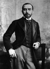 Photo of Calouste Gulbenkian wearing a tuxedo