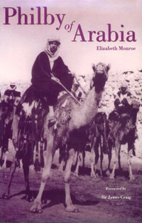 Photo of a book entitled Philby of Arabia