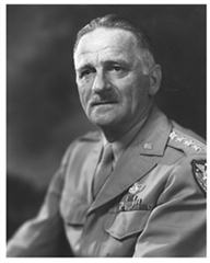 Black and White photo of General Carl Spaatz