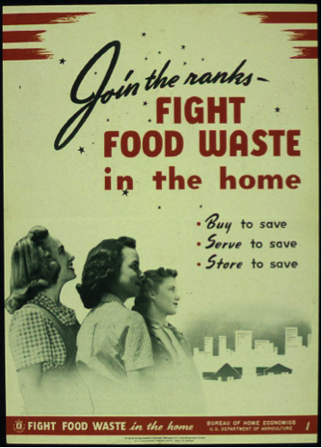 Fight food waste in the home poster