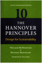Book cover of the Hannover Principles