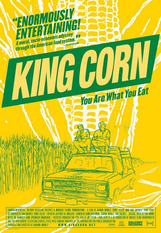 Movie poster for King Corn