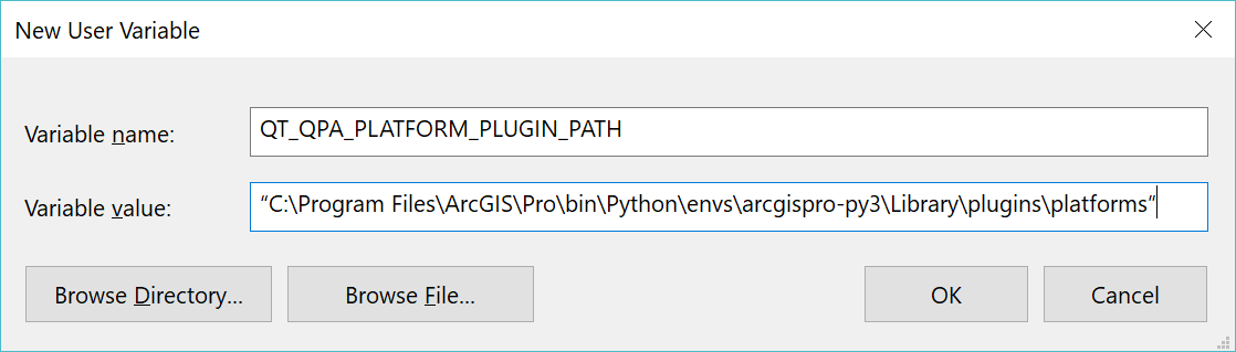 2 5 2 2 Installing PyQt5 from ArcGIS Pro | GEOG 489: Advanced Python