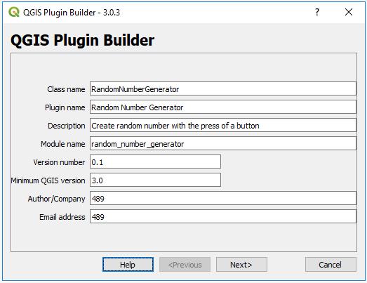 4 11 1 Creating a Plugin Template with Plugin Builder 3 | GEOG 489