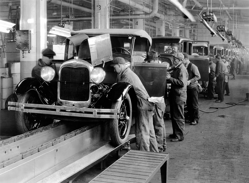 Ford Assembly Line 1927