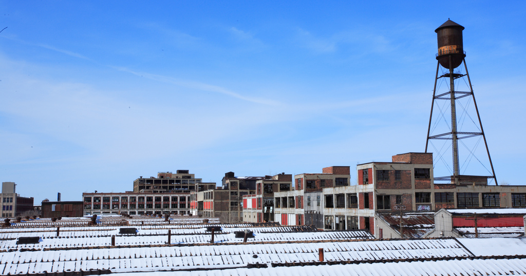 The Old Packard Plant in Detroit