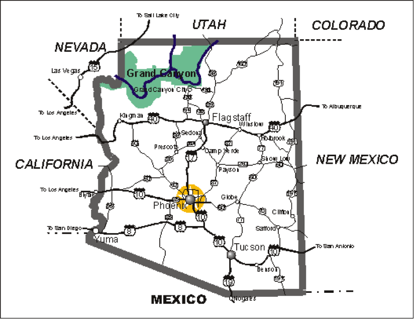 Geography of Arizona