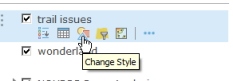 Change Style icon