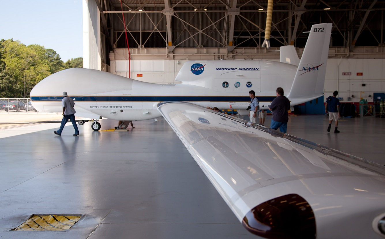 NASA's Global Hawk - a large UAV
