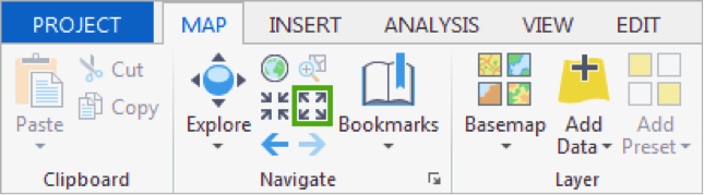 1 3 Navigate the Map and Create Bookmarks | GEOG 497: 3D