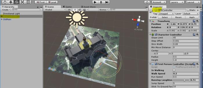 Walkthrough: Placing an Avatar in the Scene | GEOG 497: 3D Modeling