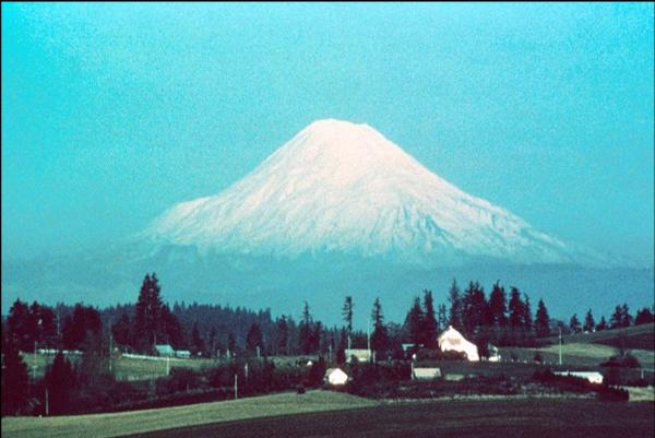 Mt. St. Helens, before 1980.