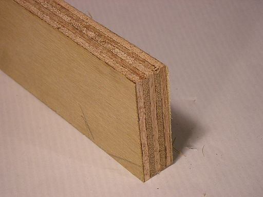 piece of plywood