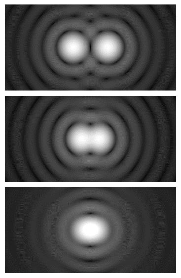 Optical lateral resolution