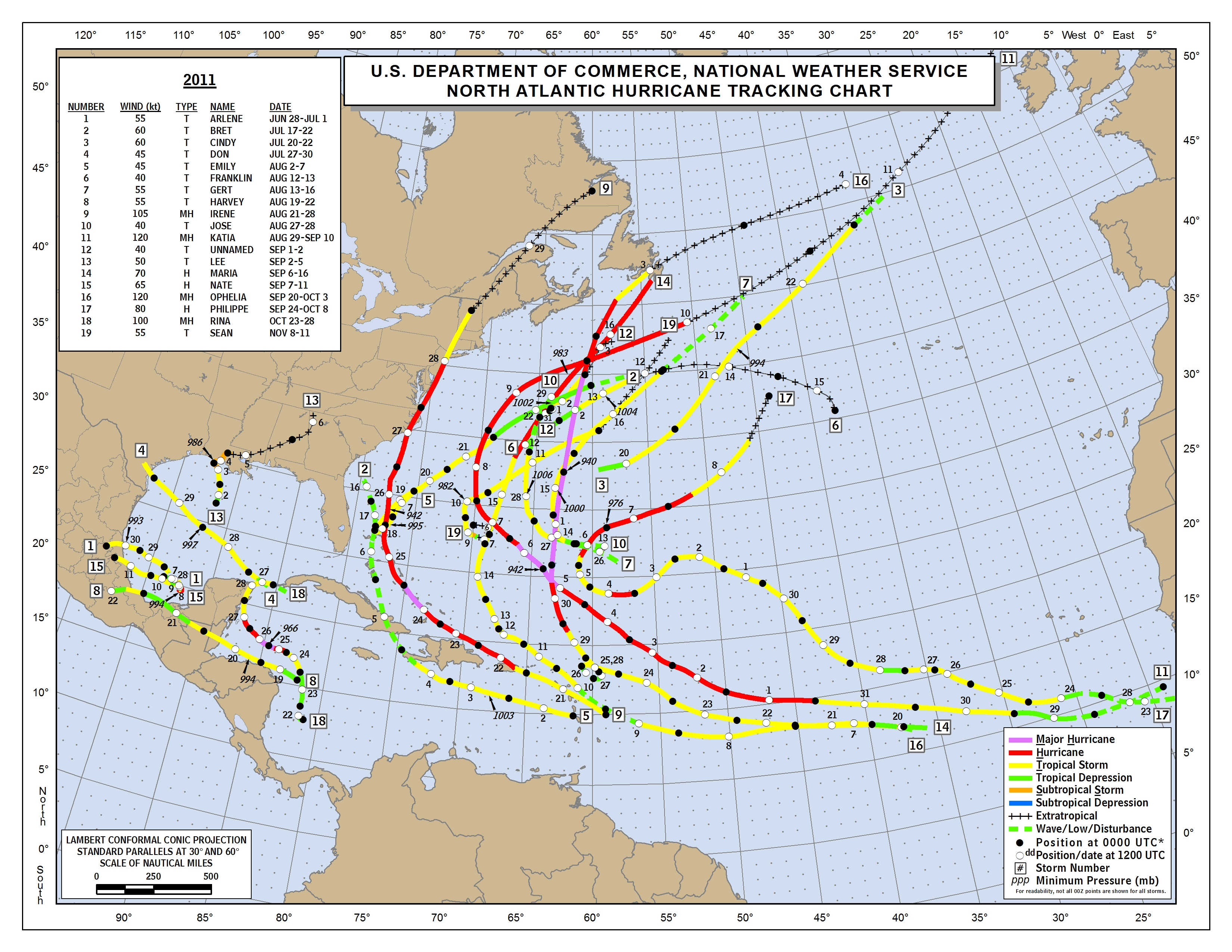 It is a graphic of Hurricane Tracking Map Printable for hurricane 7 day florida