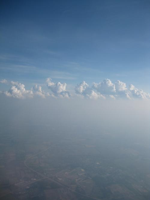 aerial view of summertime haze over Maryland as described in the text above