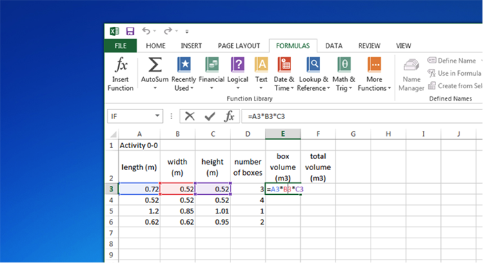 screenshot of spreadsheet - see explanation above image