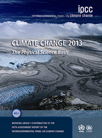 Cover of the IPCC Fifth Assessment Report