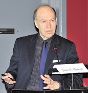 photograph of James Hansen