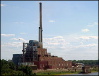 Meredosia Power Plant in Illinois.