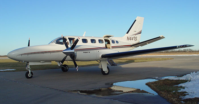 Photo of the Cessna Conquest airplane