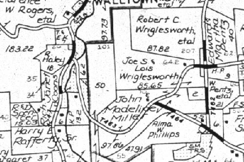 Property Plat Map For Sebastian County Ar