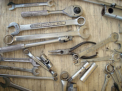 photo of old tools