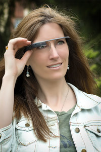 a picture of Google Glass