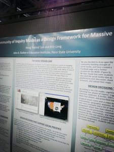a Dutton Poster at 2014 AERA conference